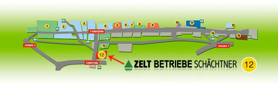 Erlanger Bergkirchweih - Belegungsplan